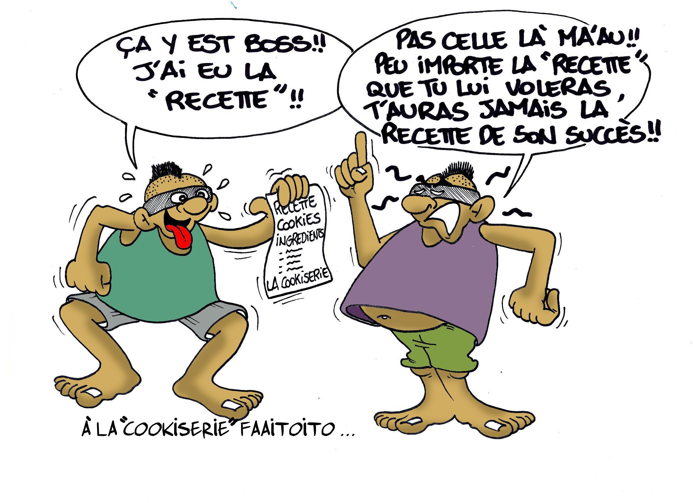 """"""" Faaitoito à la cookiserie """" par Munoz"""