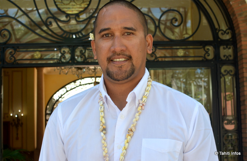 Félix Tokorani, maire de Makemo
