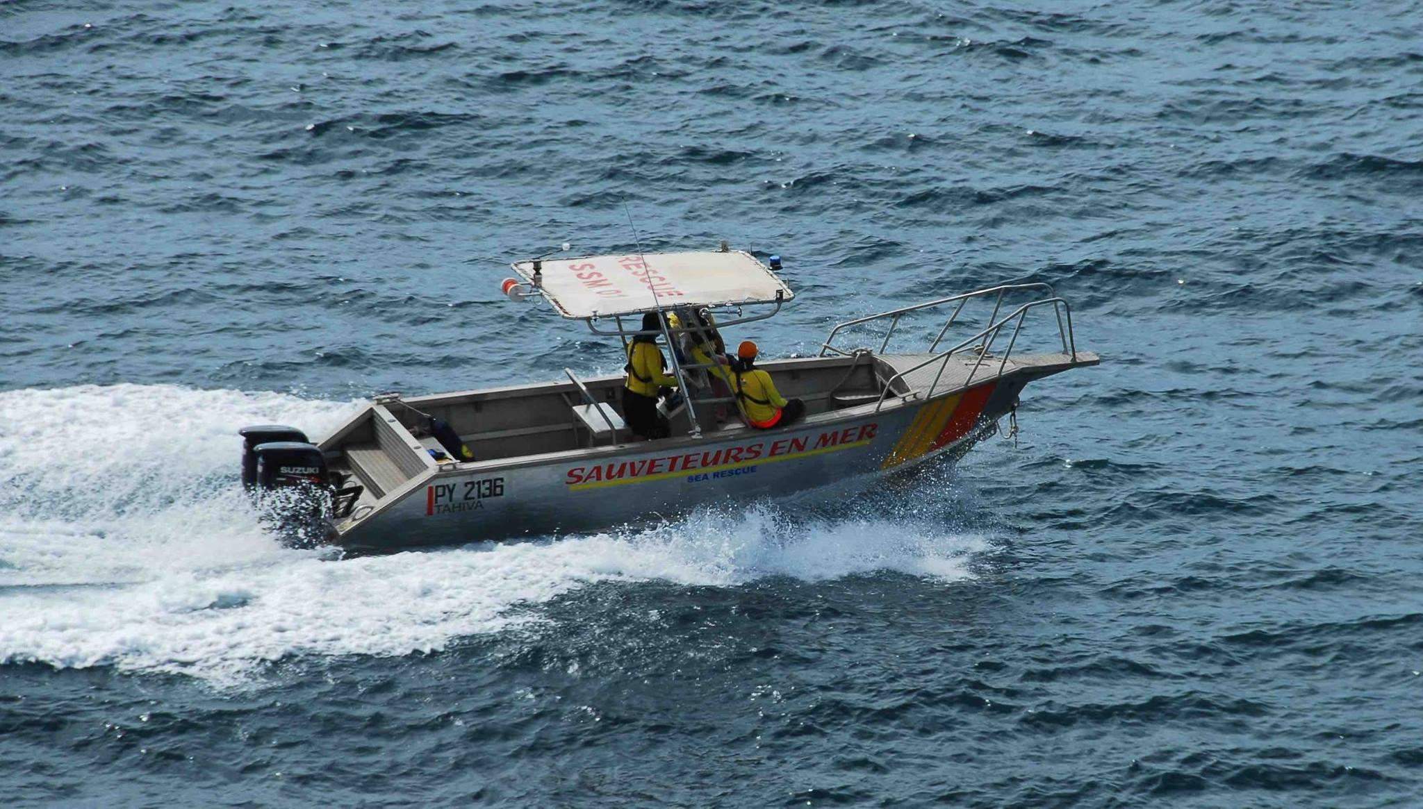 Crédit photo : station de sauvetage en mer de Hiva Oa.