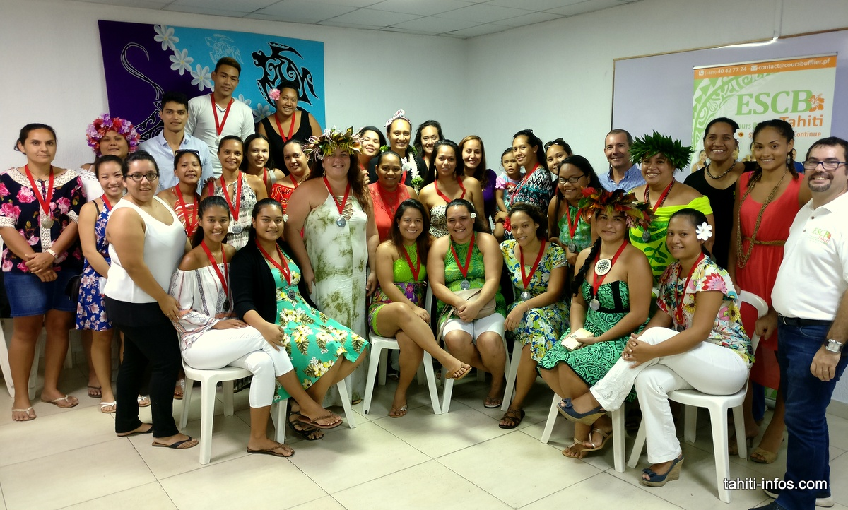 Les 31 élèves diplômés du Cours Bufflier étaient tous là vendredi dernier pour une petite cérémonie avec leurs professeurs.