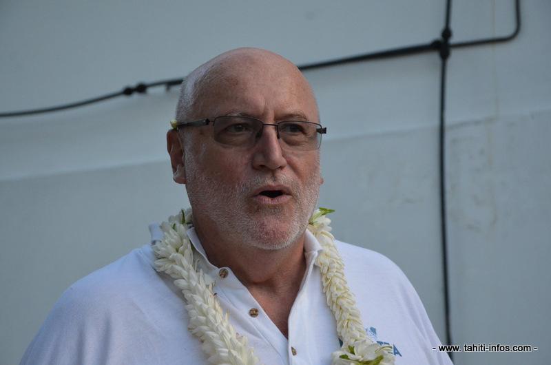 Colin Randall, président de la SAS Avenir Makatea.