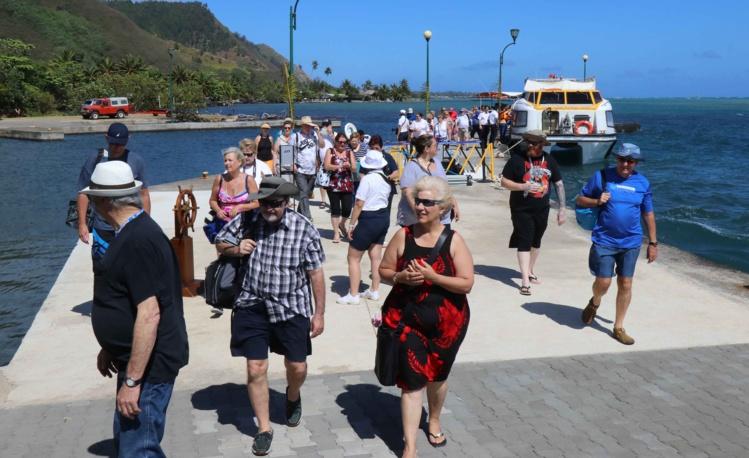 Une nouvelle phase de croissance du tourisme de croisière est prévue pour 2018. Le Pays souhaite profiter de sa situation géographique dans le Pacifique Sud pour positionner le port de Papeete comme un port de « tête de ligne » d'envergure régionale.