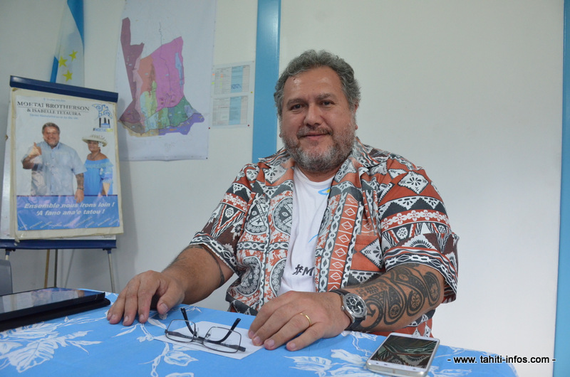 Makatea : Moetai Brotherson veut interpeller Nicolas Hulot