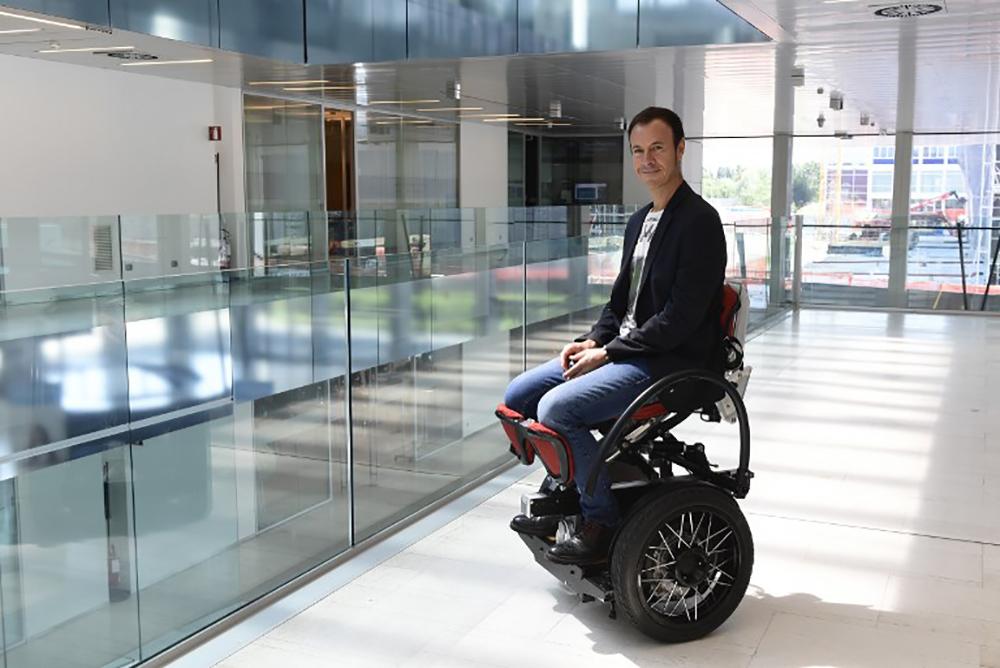 MarioWay, un fauteuil pour changer le rapport des handicapés au monde