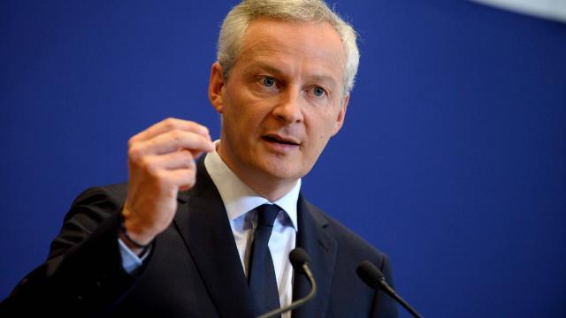 Le ministre de l'économie Bruno Le Maire.   AFP