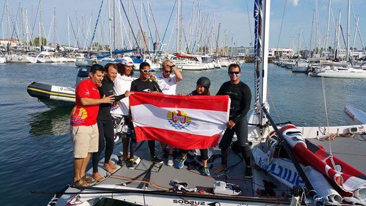 L'équipe de Trésors de Tahiti a fièrement représenté le Fenua (Photo Facebook officiel)