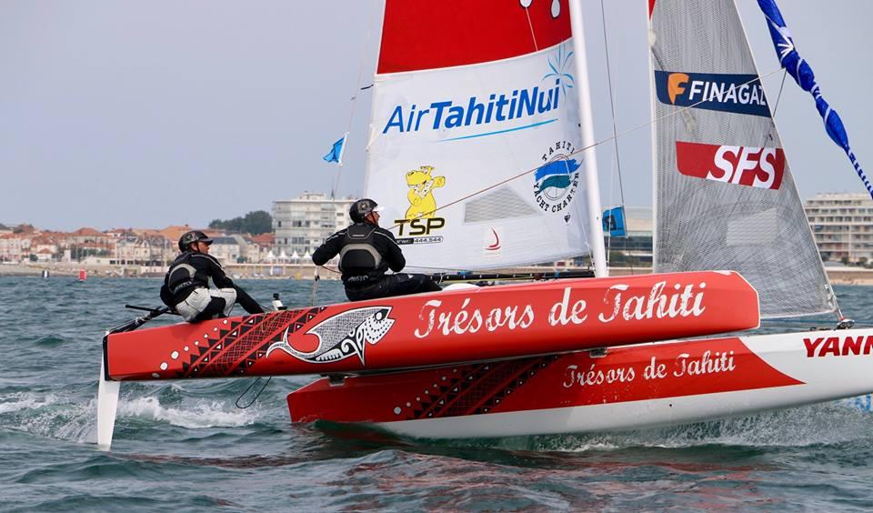 Trésors de Tahiti termine deuxième du Tour de France à la voile