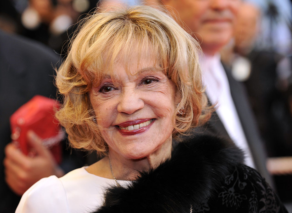 """Jeanne Moreau quitte le grand """"tourbillon de la vie"""""""