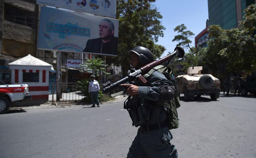 L'ambassade d'Irak attaquée par l'EI à Kaboul