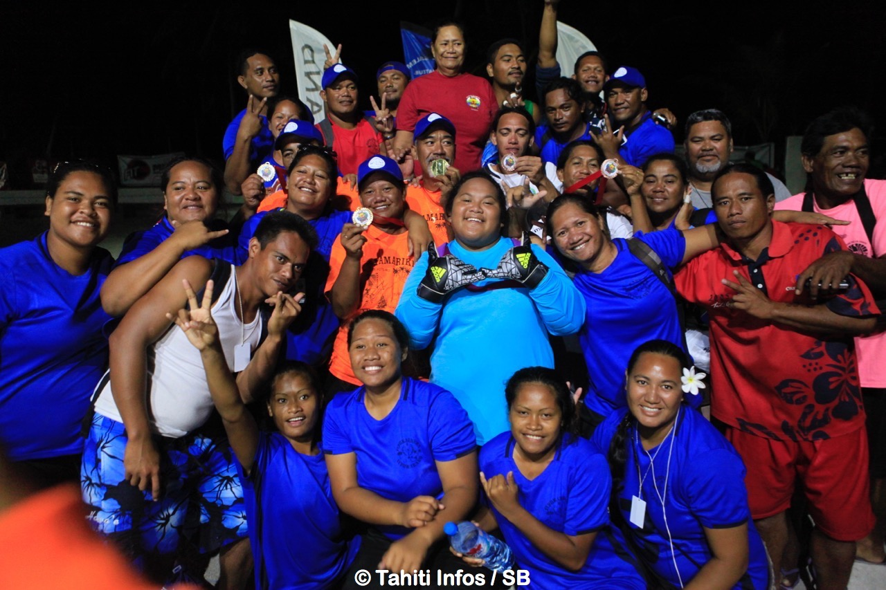 La délégation de Napuka remporte ces Jeux des Tuamotu Est