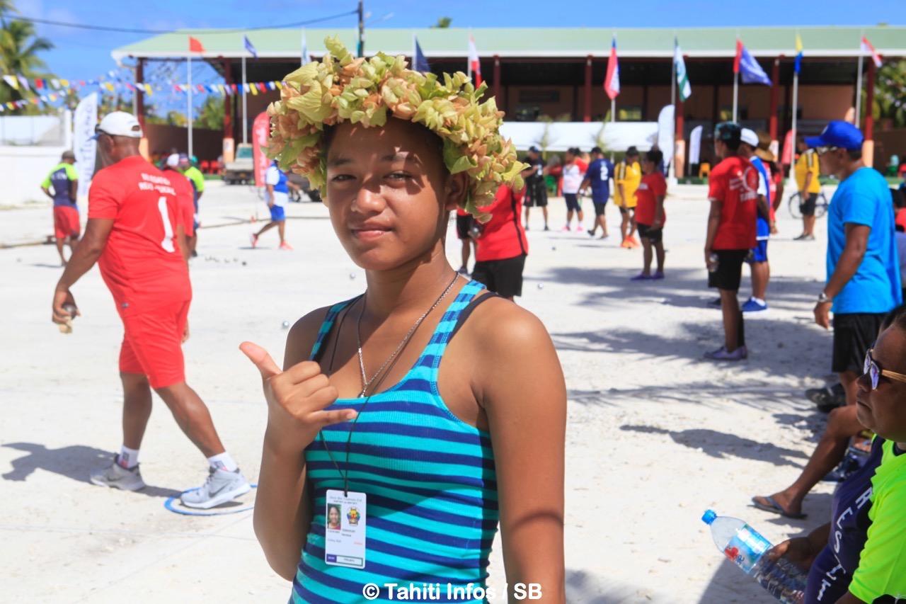 La jeunesse des Tuamotu a pu sortir d'un quotidien parfois ennuyeux