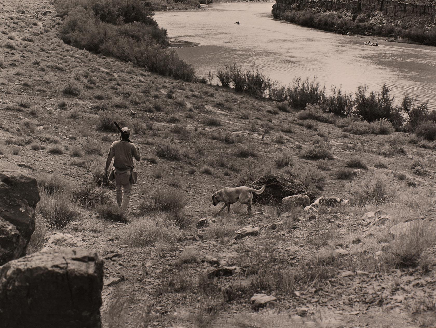"""Pour écrire """"Mille femmes blanches"""", il a sillonné seul avec ses chiens le Middle West, sur les pistes des Cheyennes."""