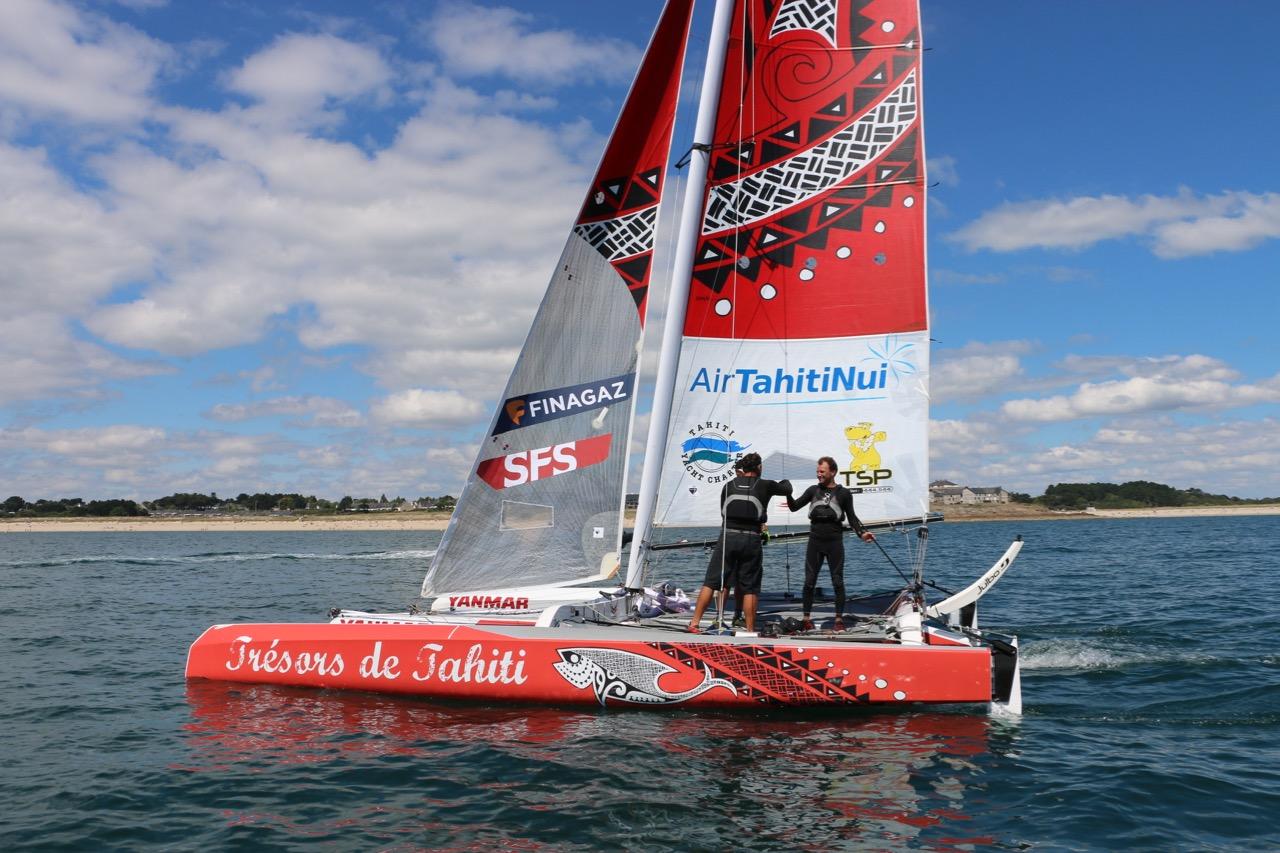 Trésors de Tahiti a rivalisé avec d'excellents équipages