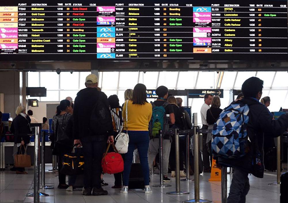 Projet d'attentat contre un avion en Australie: un gardé à vue relâché