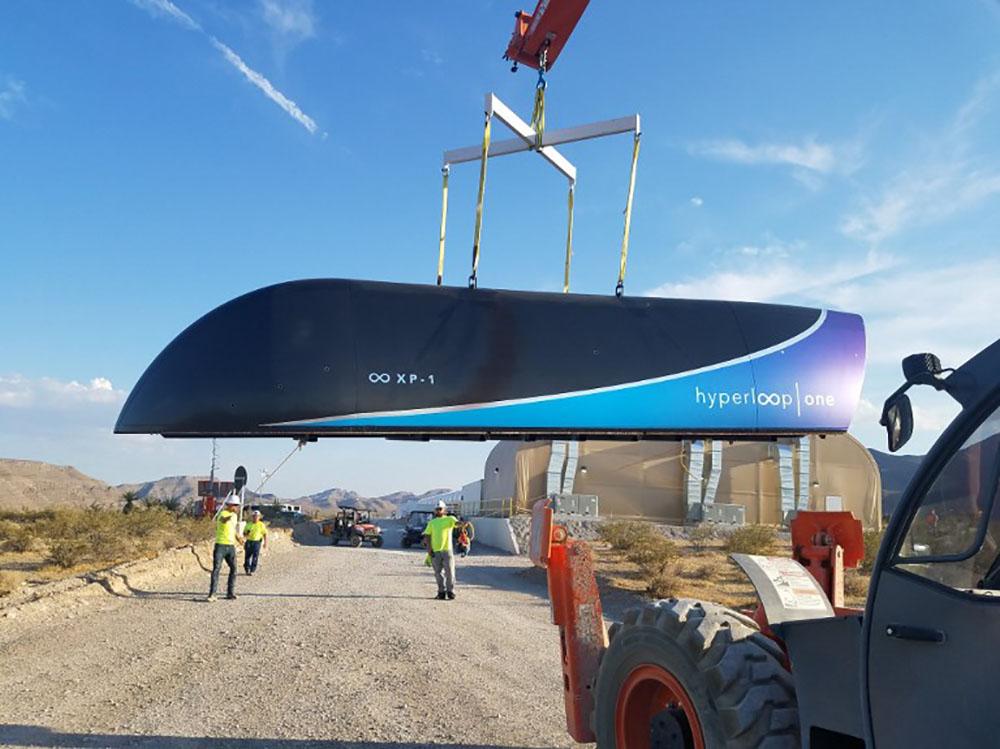 Nouveau test réussi pour l'Hyperloop, la phase de commercialisation commence