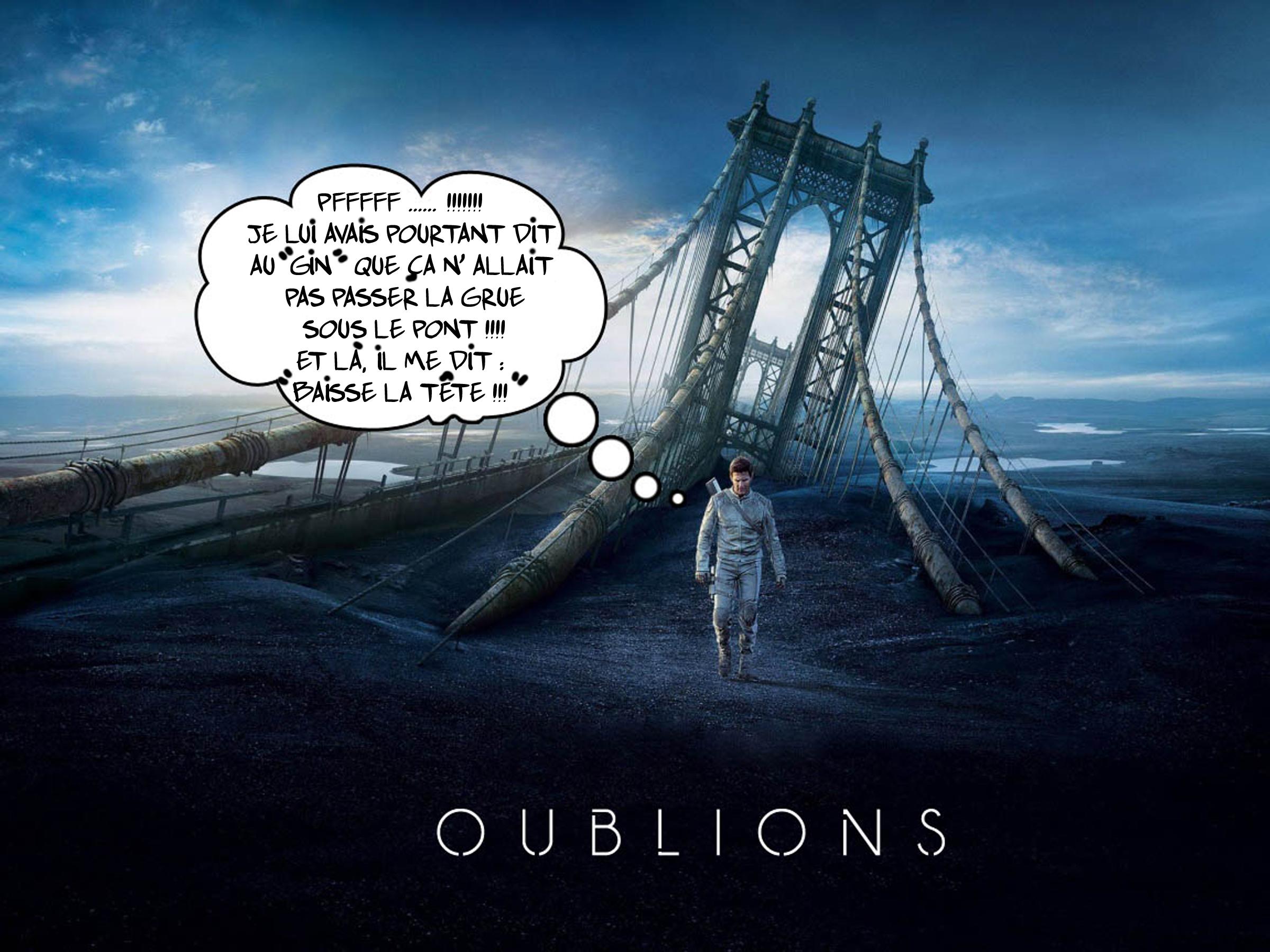 """"""" Oublions le pont """" par Munoz"""