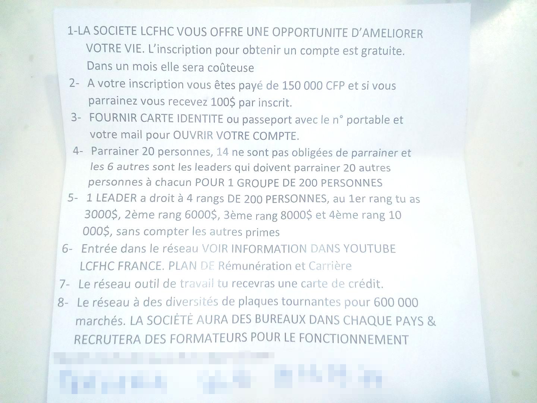 Une nouvelle initiative internationale de levée de fonds sur internet, présentée comme frauduleuse, a trouvé des relais en Polynésie française.