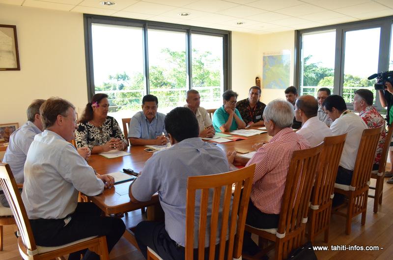 Les maires de la communauté de communes de Hava'i ont pour ambition de développer le transport interinsulaire.