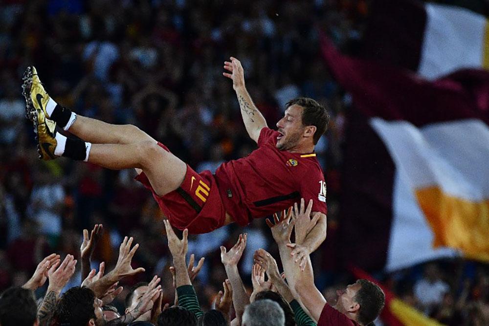 Italie: Francesco Totti désormais dans l'espace