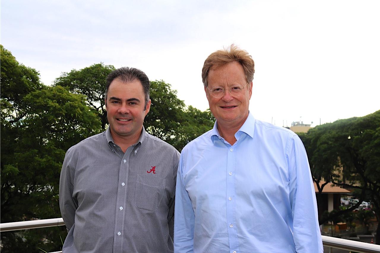 René Bidal reçoit le directeur général adjoint de la Communauté du Pacifique