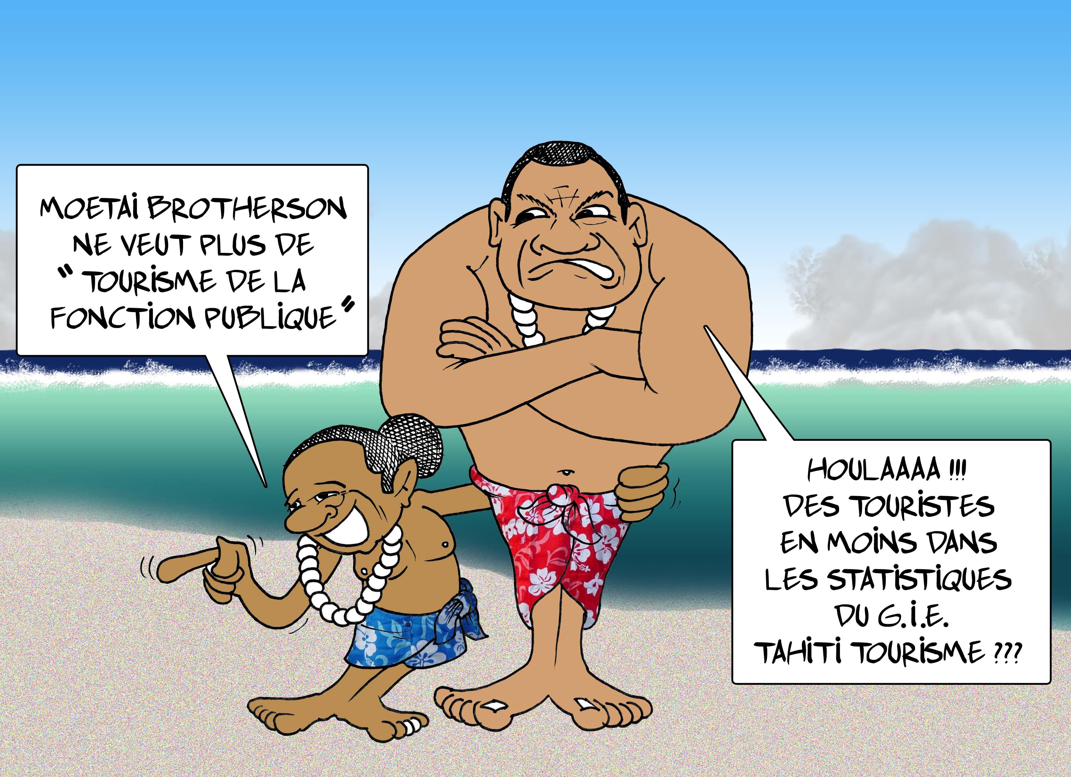 """"""" Le tourisme fonctionnaire """" par Munoz"""