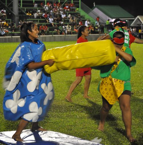 Paea : des jeux « inter-villes » dans la bonne humeur