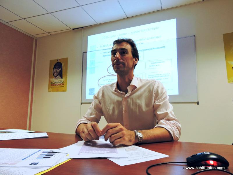 Fabrice Breuilh, directeur de l'ISPF.