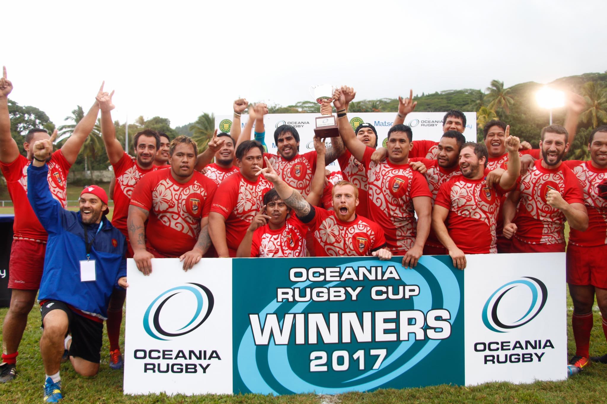 """La """"Sélection"""" a remporté l'Océania Cup 2017"""
