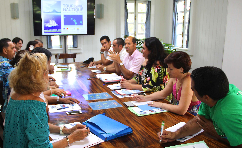 Tourisme nautique : la ministre fait une mise au point avec les tāvana