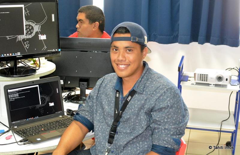 Une première formation aux métiers du code a ouvert ses portes à Punaauia