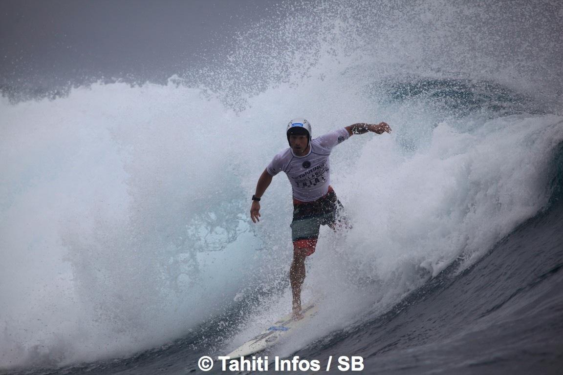Taumata Puhetini est qualifié pour la Billabong Pro Tahiti