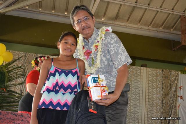 Des enfants qui ont été sélectionnés pour leurs efforts fournis tout au long de l'année, malgré les difficultés scolaires.