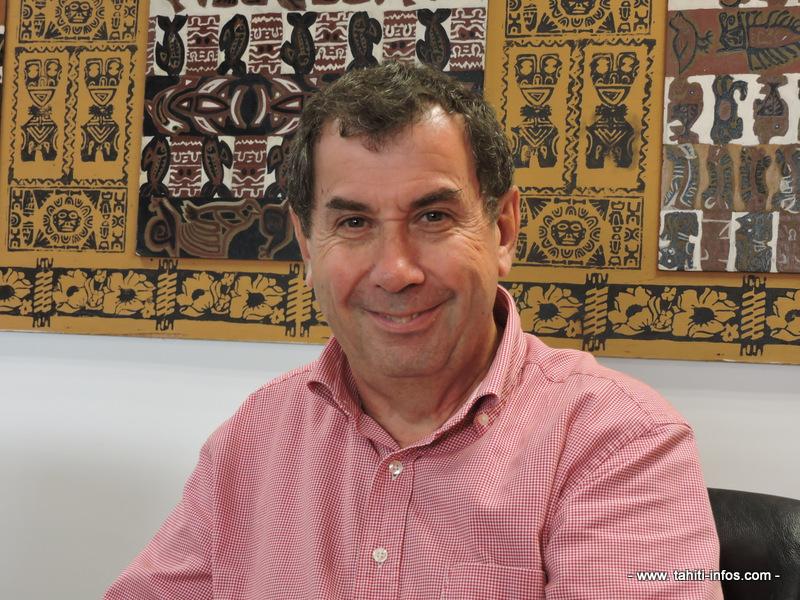 Philippe Couturaud, 62 ans, vice-recteur de la Polynésie française.