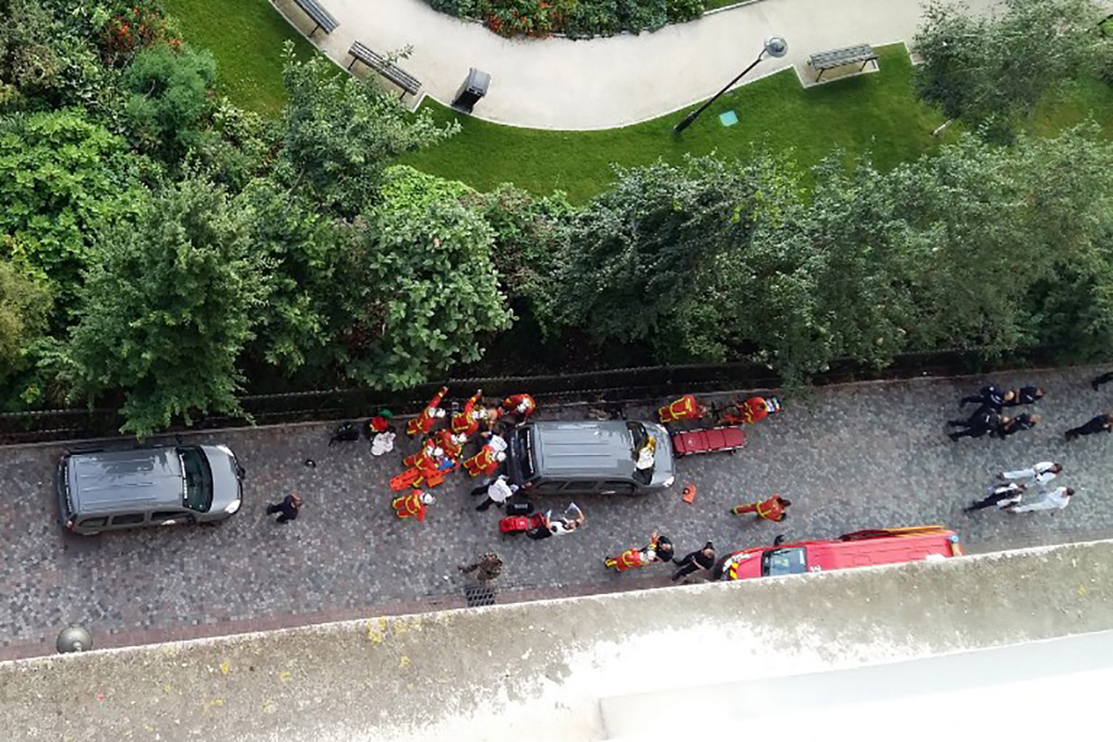 Attaque de Levallois: le suspect toujours hospitalisé, Sentinelle en question
