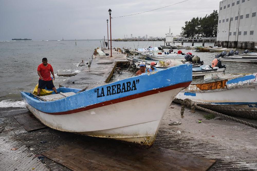 L'ouragan Franklin s'affaiblit après avoir touché l'est du Mexique