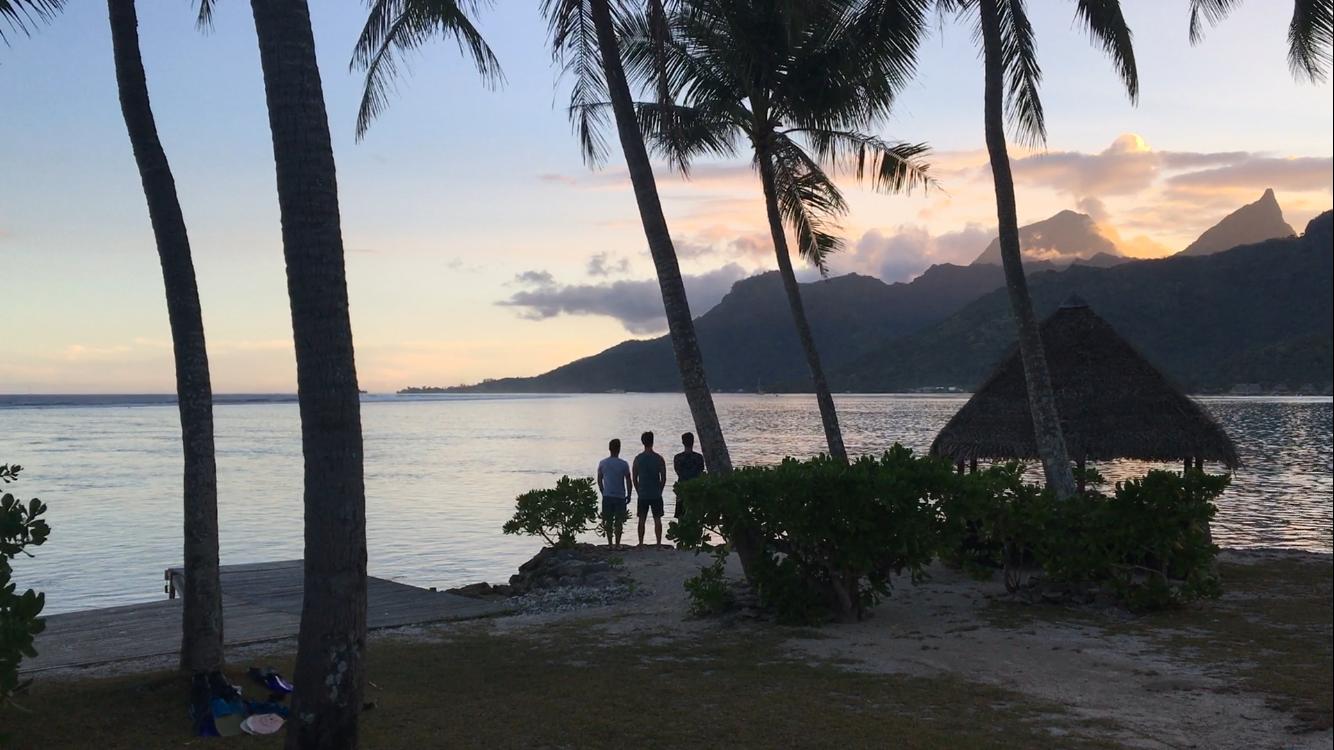 Down Below de Trackhead, un road-trip sur l'île de Tahiti