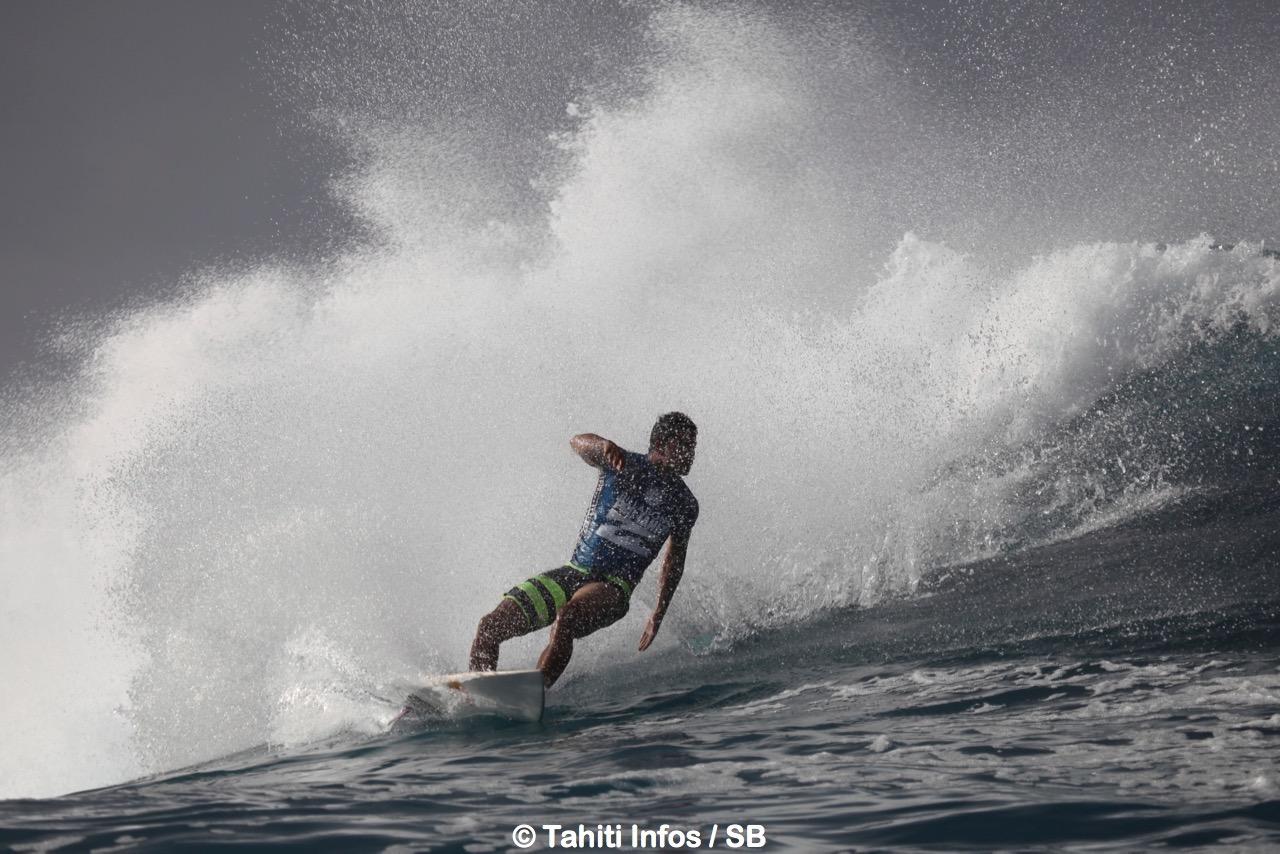 Michel Bourez a déjà marqué l'histoire du surf tahitien