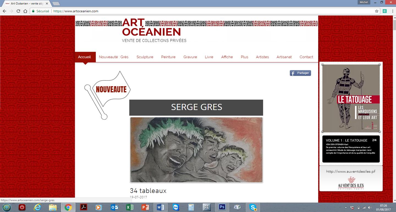Sculptures, peintures, gravures, livres, artisanat… le site propose un large choix d'œuvres et d'objets d'art.