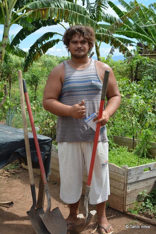 Deux quartiers de Faa'a créent leurs jardins partagés bios