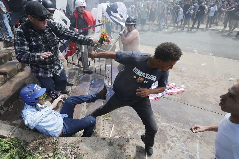 Violents heurts à un rassemblement de la droite radicale américaine