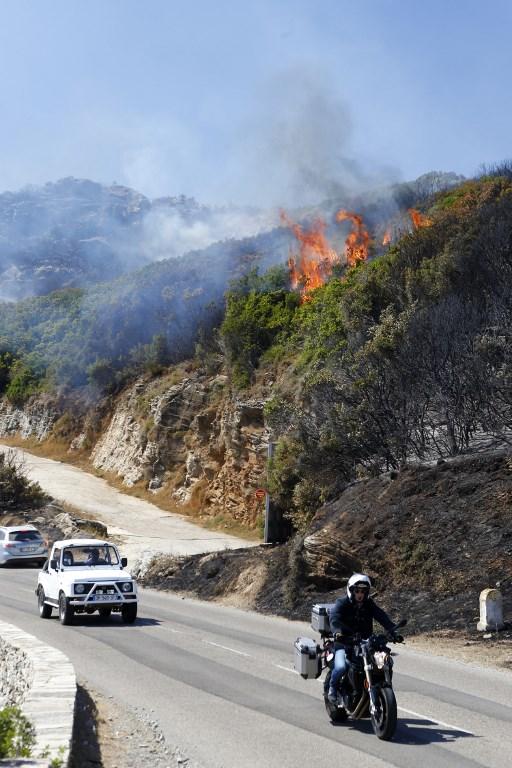 Incendies en Haute-Corse: des feux contenus après avoir parcouru environ 2.000 hectares