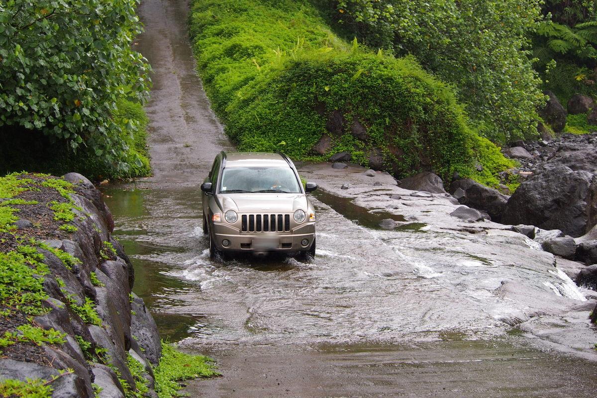 Des travaux sont à prévoir au niveau du radier dans la rivière de Papenoo