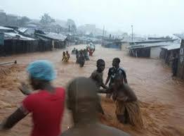 Des pluies diluviennes font plus de 300 morts en Sierra Leone