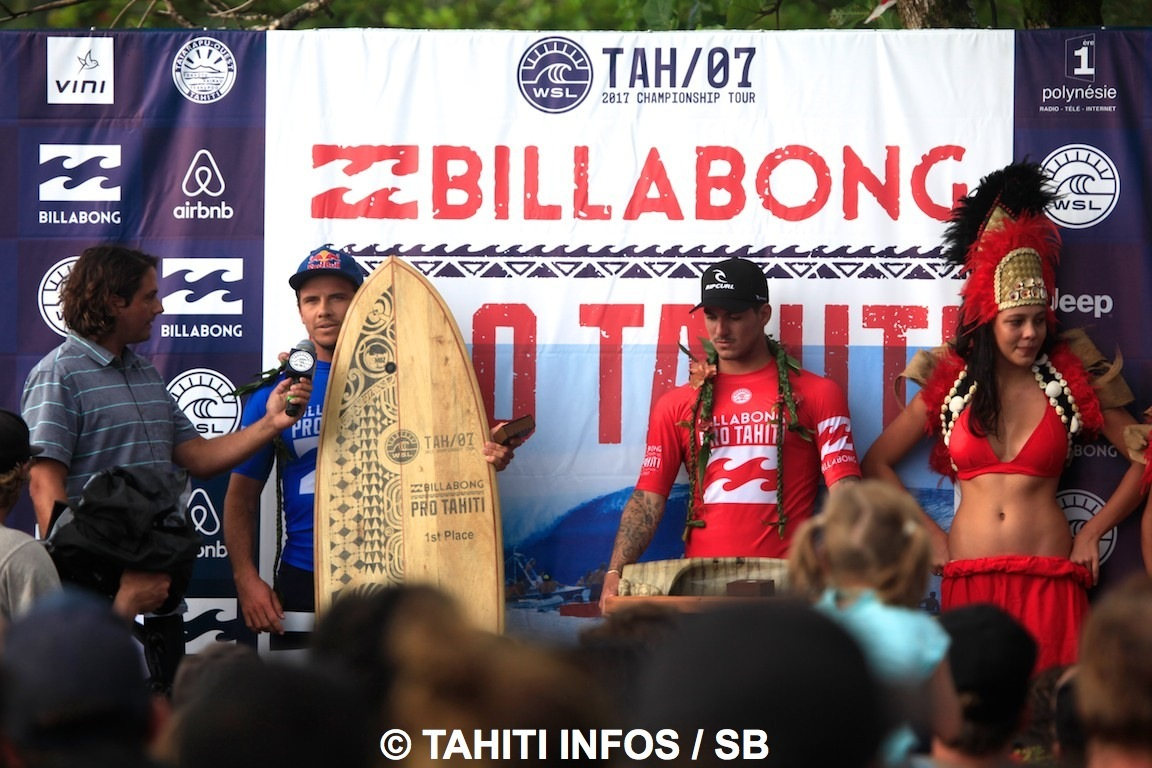 La remise des prix version Tahiti