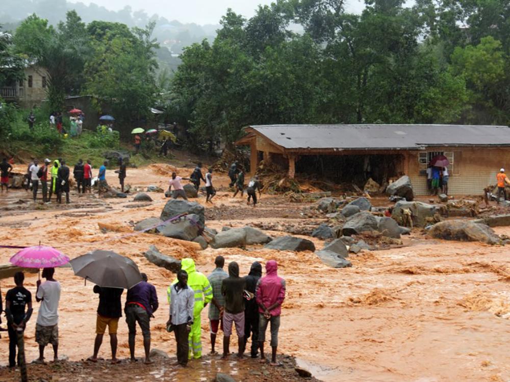 Inondations en Sierra Leone: le président lance un appel à l'aide