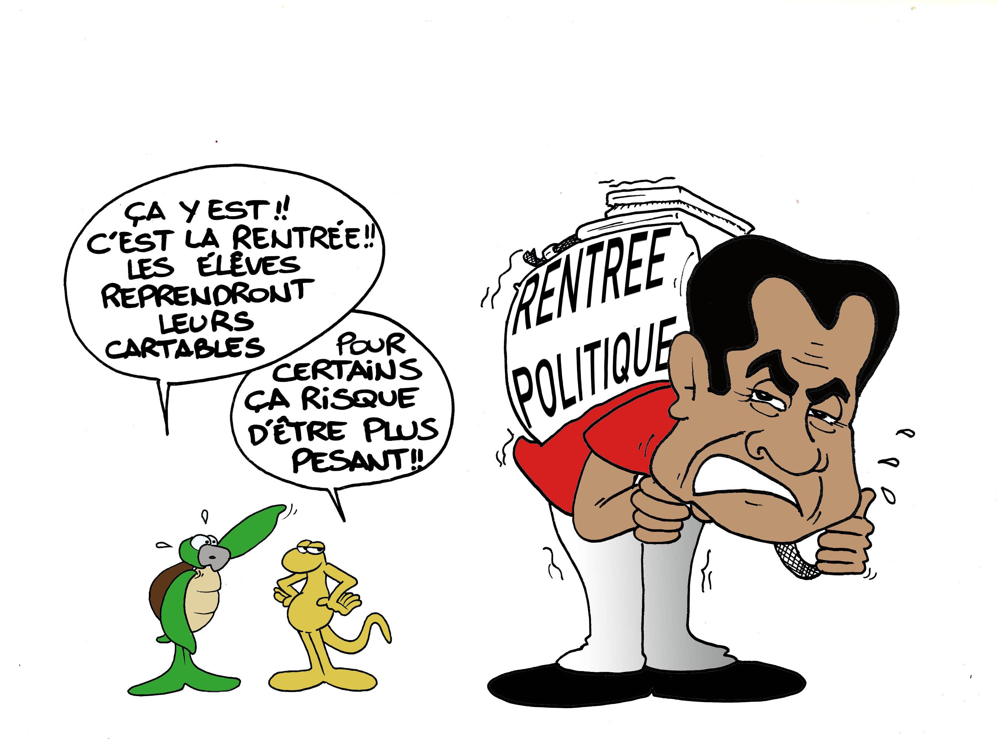 """"""" La rentrée politique """" par Munoz"""