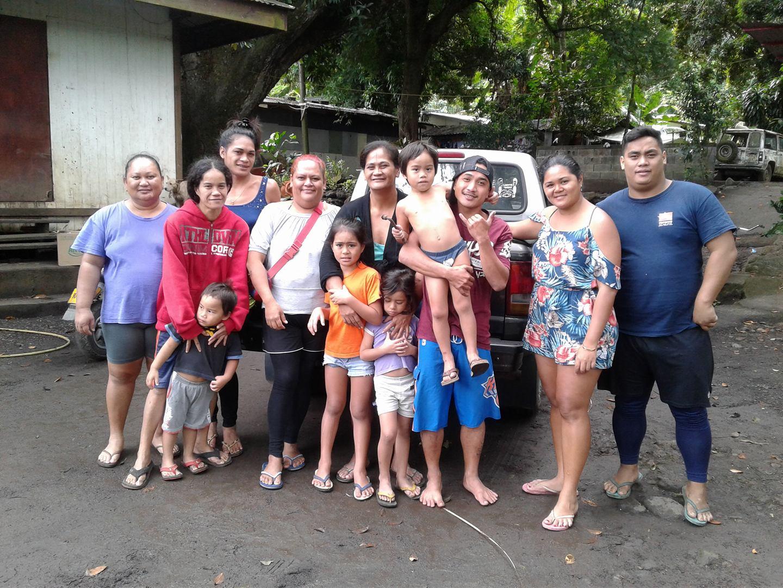 Le clan de Putaa du quartier de Tiamao regroupe une dizaine de familles.