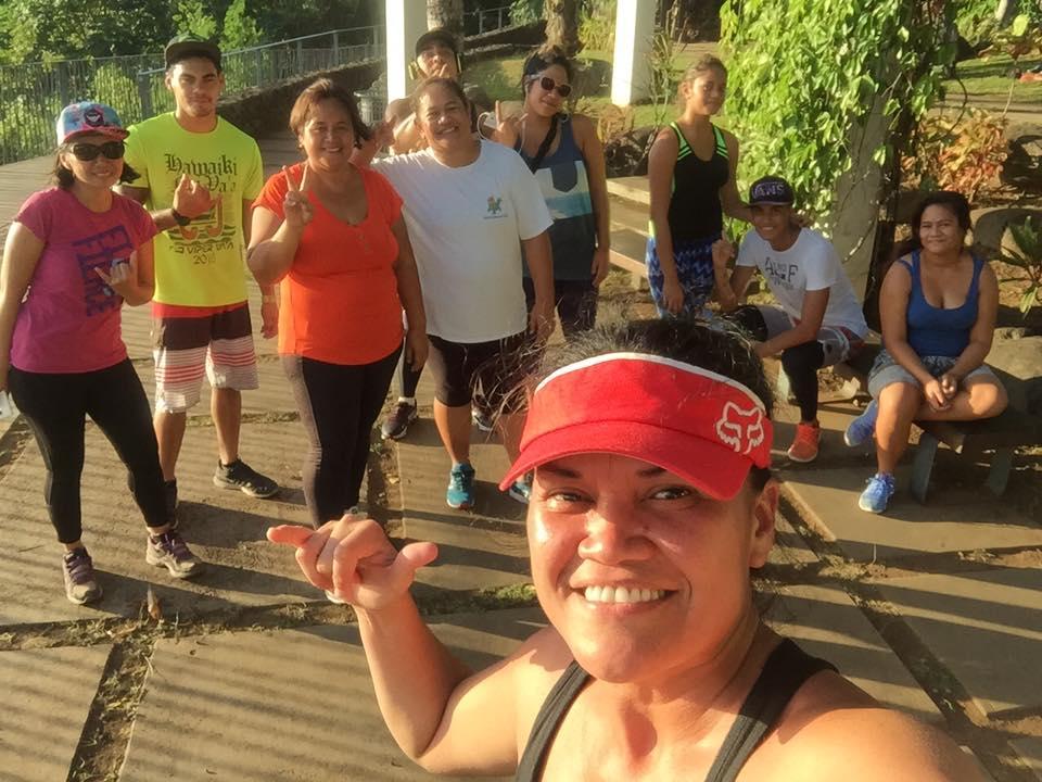 Les challengers partagent leurs repas équilibrés, séances de sports et autres conseils santé sur un groupe Facebook créé spécialement.