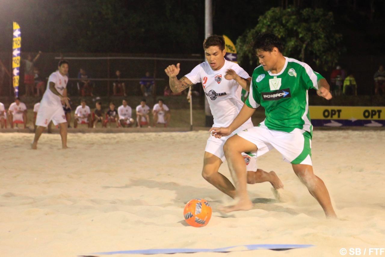Tearii Labaste a marqué un superbe but en fin de match