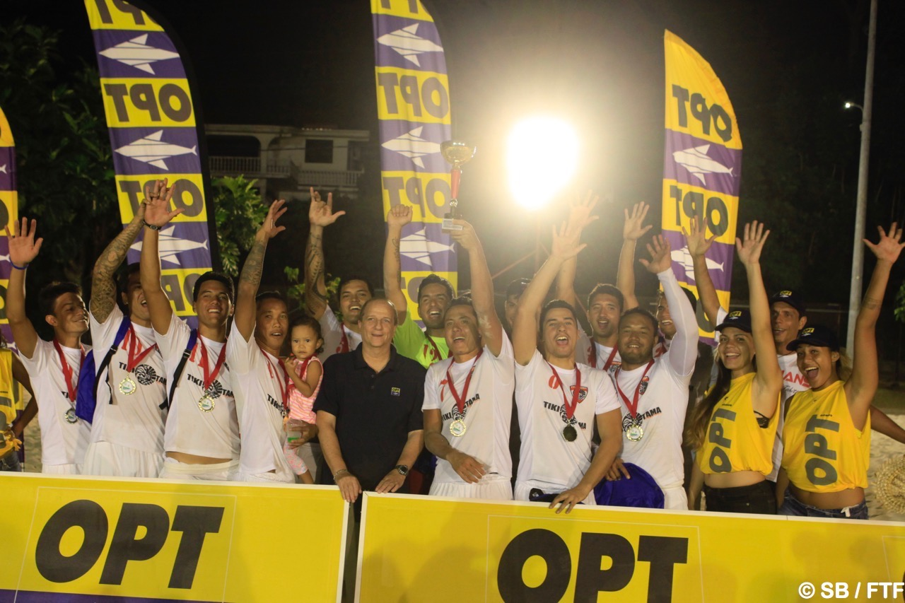 Les Tiki Tama sont sacrés champions 2017